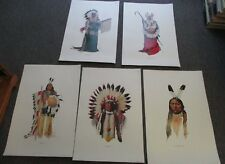 Kenneth Ottinger PRINTS Lot, Sioux, Blackfoot, Crow