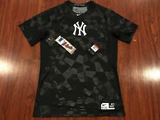 Nike Men's New York Yankees Pro Hypercool Fitted Jersey Shirt Large L MLB