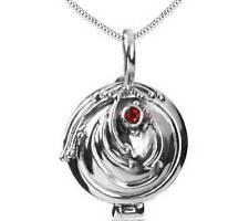 925 Sterling Silver Vampire Diaries Elena Vervain Pendant Necklace