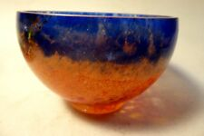 EAMONN VEREKER ART GLASS OUTBACK RANGE SCANDINAVIAN BOWL