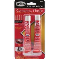 Testors Plastic Model Cement Glue 3509C 2x 7/8 oz Value Pack 4 Tips