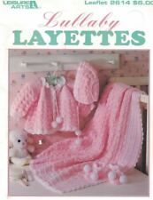 Lullaby Layettes to Crochet 4 Sets by Alice Hyche LA 2614 Leisure Arts Patterns