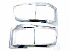 Head Lights Lamps Chrome Cover Trim For Toyota Commuter Hiace 2005 2006 2008 Van