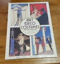 Art Deco Costumes George Barbier Poster Art Series Softcover 40 Plates. Sealed.