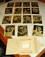 GRETA GARBO serie completa 15 - ED. RIZZOLI - CINEMA ILLUSTRAZIONE anni '30