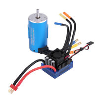 SUPARSS 3670 2650KV Brushless Motor 120A ESC Speed Controller Combo RC Parts ❤mo