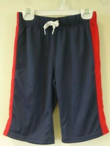 NWT Hanna Andersson Navy/Red Athletic Shorts Boy's Size 130 / 8