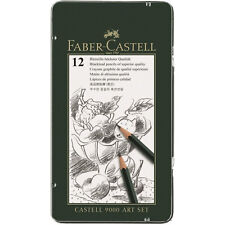Faber-Castell Art-set Castell 9000 Im 12er Metalletui