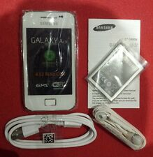 Samsung Galaxy Ace GT-S5830i- Ceramic White (Unlocked)NEW Smartphone
