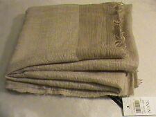 Women's beige wrap shawl scarf heather taupe NWT Ann Taylor vintage light soft