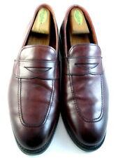 "Allen Edmonds ""Lake Forest"" Men's Leather Penny Loafers 10.5 D Oxblood  USA(650)"