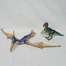 Jurassic Park Pteranodon Pterodactyl Jp22 & Pachycephalosaurus Jp07 Hasbro 1997