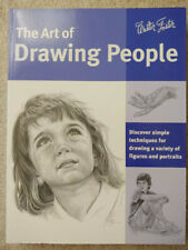 Lot of 3 Walter Foster Books: Drawing People, Basic Drawing, Pencil Drawing