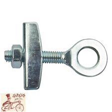 "SUNLITE BANJO  3/8""-AXLE SILVER BICYCLE CHAIN TENSIONER--SINGLE"