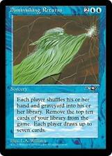 DIMINISHING RETURNS Alliances MTG Blue Sorcery RARE
