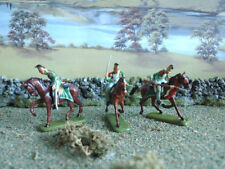 Painted Plastic French ESCI Toy Soldiers
