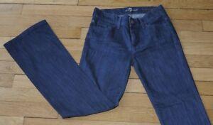 7 For All Mankind Jeans pour Femme W 25 - L 30 Taille Fr 34 (Réf # X163)