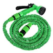 More details for 25/150ft flexible stretch expandable garden magic water hose pipe spray gun uk