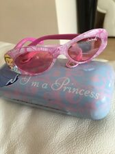 Disney Princess Cinderella Girl's Plastic Sunglasses & Case