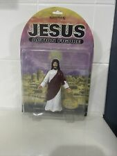 Jesus Action Figure 2001 Accoutrements Poseable Arms  Gliding Action NIP