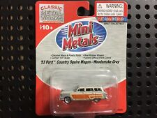 Mini Metals '53 Ford Country Squire Wagon - New