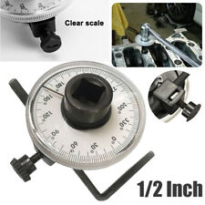 "360° 1/2"" Drive Torque Angle Gauge Meter Auto Angle Rotation Measure Tool Wrench"