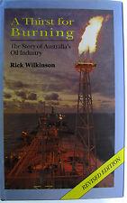 #JK15, Rick Wilkinson A THIRST FOR BURNING, HC VGC