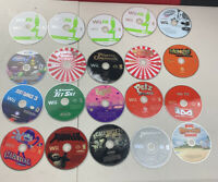 Nintendo Wii Mixed Lot Of 20 Games Fun Titles Bundle FAST SHIPPING