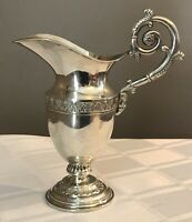 American Coin/Sterling Silver Pitcher Civil War Military 1853 M. Rand