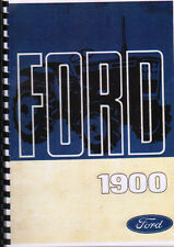 "Ford ""1900"" Compact Tractor Operator Manual Handbook"