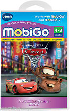 Vtech MobiGo 1 2 Game - Pixar Cars 2 Educational Software Cartridge 3 - 7 years