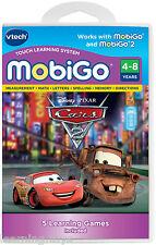 Vtech MobiGo 1 2 Game - Pixar Cars 2 Educational Software Cartridge 3 - 7 years