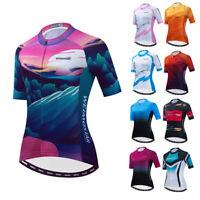 Cycling Jersey Women MTB Bike Short Sleeve Clothing T-Shirt Tops Bicycle Jacket
