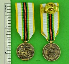 COLD WAR VICTORY MINIATURE MEDAL - Veterans 1946-1991 - Mini Service Medal