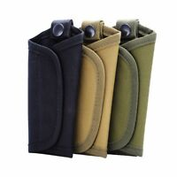 Tactical Molle Men's Foldrable Wallet Keys Holder Case 600D Keychain Bag