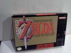 Legend of Zelda A Link to the Past (SNES) Video Game BOX ONLY ORIGINAL