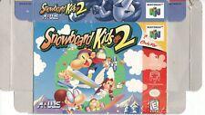 [BOX] SNOWBOARD KIDS 2 Nintendo 64 N64 NO GAME