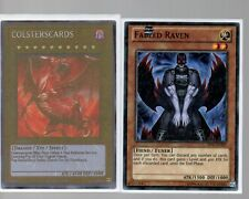 Yugioh Card - Starfoil Rare - Fabled Raven BP01-EN205