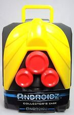 Androidz COLLECTOR'S CASE Stores 11 Robots Gray Red Yellow New