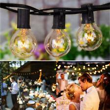 25/50 ft G40 String Waterproof Indoor/Outdoor Fairy Lights Patio String Light