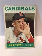 1964 Topps Johnny Keane St Louis Cardinals #413 Baseball Card