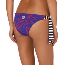 Roxy Small Coverage Knotted Bikini Bottoms L Large New Tags Side Tie