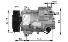 NRF Compresor, aire acondicionado OPEL ASTRA INSIGNIA VAUXHALL MOVANO 32487G