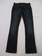 Womens Size 26x32 26/32 Mavi Ashley Mid Rise Boot Cut Blue Jeans Measure 26x31.5