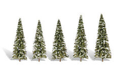 "Woodland Scenics [WOO] Trees Snow Dusted 2.5-4"" (5) WOOTR3567"