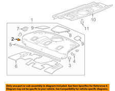Right General Motors Genuine GM 20849248 Fender Ornament Front
