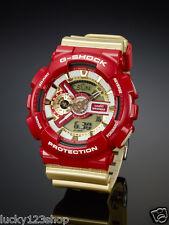 GA-110CS-4A Gold Rot Casio G-Schock 200m Analog Digital Light X-Large Uhren Neu