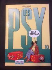 BD LES PSY - ET A PART CA N°10 - DUPUIS- 2002-  BD30