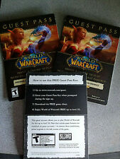 World of Warcraft Guest Passes (Play WoW free up to level 20!)