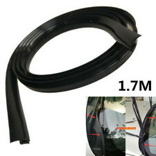 Universal Black 1.7M Rubber Sealed Strips For Car Front Windshield Plastic Panel